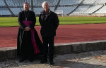 JAMOR RECEIVED THE VISIT OF THE AUXILIARY BISHOP OF LISBON, D. AM�RICO AGUIAR